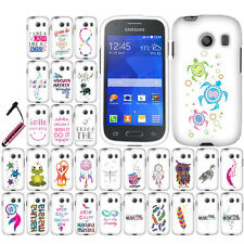 FOR SAMSUNG GALAXY ACE STYLE S765C Christian Bible HARD Case Protector Cover+Pen
