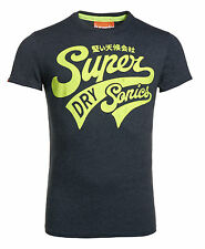 New Mens Superdry Factory Second Supersonics T-Shirt Midnight Marl