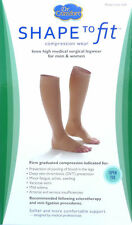 Bell Compression Knee High Stockings 30-40 mmHg Beige