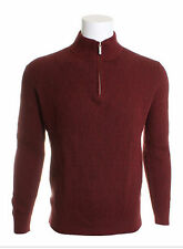 Tommy Bahama Coastal Fairway 1/2 Zip Pullover Chili Red Sweater NWT MSRP $138