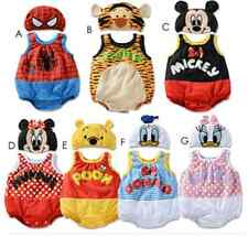 Baby Boys Girls Animal Costume Bodysuit Outfit Romper Clothes Set Size 3-24M