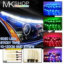Deluxe 18 LED voiture camion moto grill bandes lumineuses Imperméable Blanc Bleu Rouge Vert