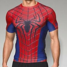 ** SPIDERMAN ** Under Armour Men's Alter Ego Compression Shirt All Sizes NWT