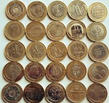 Rare British £2 Pound Coins From 1997 - 2014
