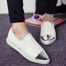 2015 Womens Flats Casual Metal Pointed Toe Oxfords Pumps Loafers Moccasins Shoes