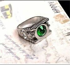 NEW Green Lantern Ring Austrian Crystal Ring Justice League Size: 9-10US
