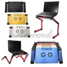 Laptop Notebook PC Vented Table Desk Bed Couch Fold Adjustable Stand Read Book