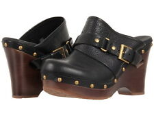 "UGG AUSTRALIA WOMENS SHOES CLOGS ""NATALEE""  NIB BLACK $180 FREE SHIPPING"