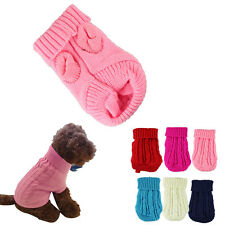 Pet Dog Cat Clothes Winter Warm Sweater Knitwear for Dogs Puppy Coat Appare