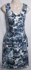 NEW LADIES WALLIS BLUE FLORAL PRINT TUNIC SHIFT DRESS SIZE 8 -18 BNWOT