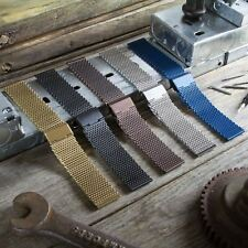 Stainless Steel Mesh Watch Strap - Milanese Mesh - Adjustable Length 18 20 22