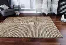 Crestwood Hand Made Natural Coloured Jute Rug in various sizes and runner