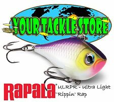 Rapala Ulrpr04 Ultra Light Rippin Rap Pick Color & Qty Nip Ulrpr Factory Direct