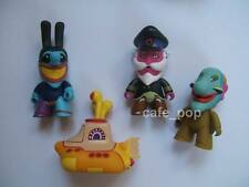 "The Beatles TITANS YELLOW SUBMARINE 3"" VINYL FIGURE LOT Titan Series 2014"