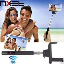 NXET Official Bluetooth Selfie Extendable Monopod Holder Bulid In Remote Shutter