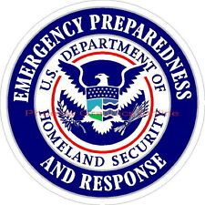 Emergency Preparedness Homeland Security Police Sheriff Disaster Decal Sticker