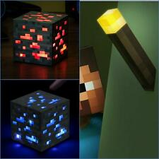 MINECRAFT LIGHT-UP TORCH/ Redstone / Bluestone Ore,FREE P&P,ideal Christmas gift