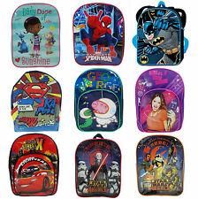 Official Disney Princess & Kids Character School Bag Rucksack Backpack New Gift