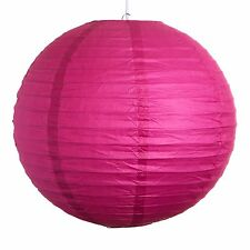 """Pink Paper Party Wedding Lanterns - 12"""", 16"""" and 20"""" sizes"""