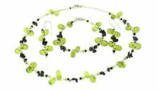 Genuine Semi Precious Gemstone Necklace, Bracelet & earring set -see variations