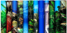 "10-12""H Aquarium/Terrarium Background 5 10 15 20 Gal Fresh/Saltwater by the Foot"
