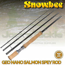 Snowbee Geo Nano Salmon Spey Rods ALL SIZES!