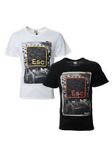 Mens Bench T-shirt | Esc tee | Black & White | RRP £22.99