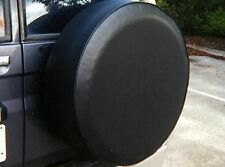 Textured Vinyl Spare Wheel Cover Piped & Elastised **5 sizes to fit**