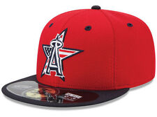 Official MLB 2014 Los Angeles Angels Anaheim July 4th New Era 59FIFTY Fitted Hat