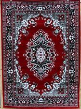 0889 Black red Gray oriental area rug persian new carpet 2x3, 5x7, 8x11