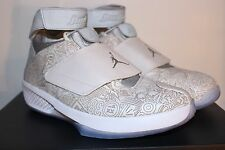 Air Jordan XX 20 Laser All Star White Metallic Silver  743991 100