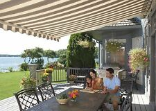 20' SunSetter Motorized XL Awning with Woven Acrylic Fabric by SunSetter Awnings