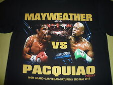"Floyd Mayweather v Manny Pacquiao ""Superfight t-shirt"" Brand New"