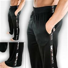 NEW Men's Monsta Clothing Light Weight Workout Gym Sports Polyester Pants Black