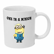 One In A Minion Mug despicable me coffee tea cup gift