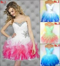 New Mini Organza Cocktail Dress Hot Homecoming Dresses Short Prom Party Ball