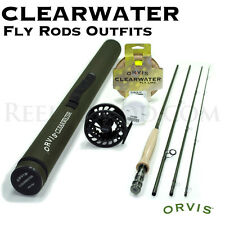 NEW - Orvis Clearwater 5 weight 10ft Fly Rod Outfit 105-4 - FREE SHIPPING!