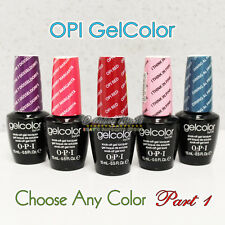 OPI GelColor Part 1 -All New Soak Off Led UV Gel Polish Base Top Coat 0.5oz/15mL