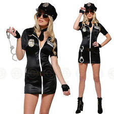 SEXY 7PC POLICE WOMAN FANCY DRESS OUTFIT COSTUME COP OFFICER HEN NIGHT PLUS