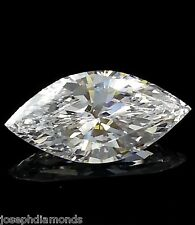 New Marquise CUT Ex Loose Lannyte Lab Created Diamond D Flawless 1,2,3,4,5 ct