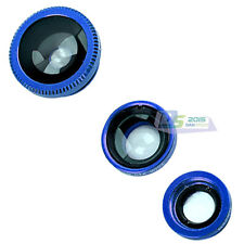 3in1 Universal Clip-on Fish Eye Wide Angle Mobile Phone Lens Camera Kit Hot Sale