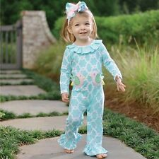 Mud Pie Little Chick Spring Easter Baby Girl Little Chick One Piece 1132101