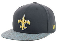 Official 2014 NFL Draft New Orleans Saints New Era Reflective Hat Graphite Gray