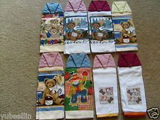 BRAND NEW HAND CRAFTED COTTON HAND TOWELS WITH VELCRO CLOSURES