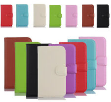 New Magnetic PU Flip Leather Case Cover Card Slot Wallet Stand For Nokia Phones