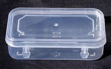 3.5x2 inch Small Plastic Clear Transparent Storage Collection Container Box Case