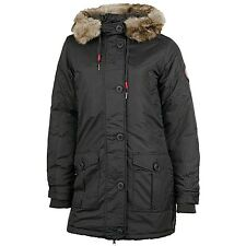 Bench Greenland Mantel Winterjacke Damen schwarz - NEU