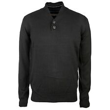 Ben Sherman Henley Knit Sweat - NEU