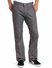 Levis 559 Jeans Mens Relaxed Straight Leg Tumbled Merlin Grey 100% Cotton Denim