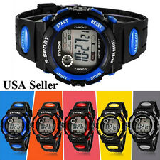 New Multifunction Waterproof Child/Boy's/Girl's Sports Electronic Watch Watches